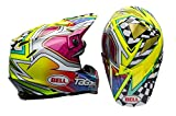 Bell Moto 9 Flex MX Helmet Large Tagger Mayhem Green Black White