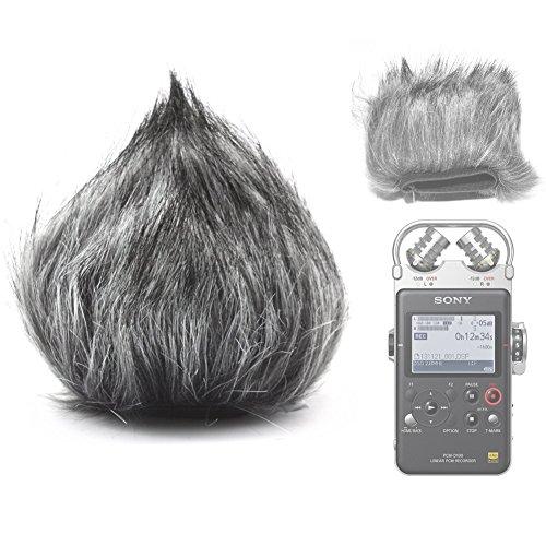 Enjoytone EN-3/Outdoor Furry Mikrofon Windschutzscheibe Wind Muff f/ür mic-107/mic-109/Mikrofon Gro/ß Recorder Rode Shotgun 22,9/cm Length-Gray