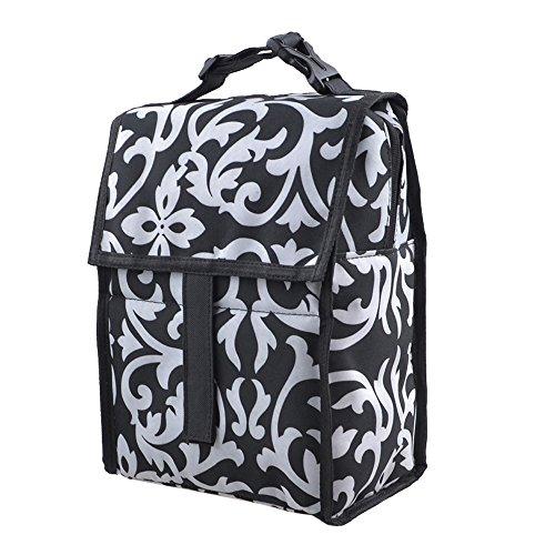 Pieghevole impermeabile isolato viaggio Tote pranzo Organizer Box Cool Cooler Thermal Bag primavera neve