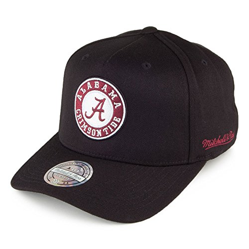 Mitchell & Ness Alabama Crimson Tide Snapback Cap - Eazy - Schwarz - Einstellbar