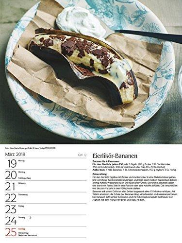 51r9GHxDs4L - Genussvoll Grillen 2018: Foto-Wochenkalender