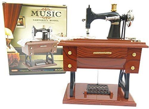 patty both Sewing Machine Music Box