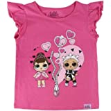 L.O.L. Surprise ! Camiseta Original para Niñas con Las Muñecas LOL Rocker, BFF Fancy & Fresh, Diva, M.c Swag, It Baby, Leadin