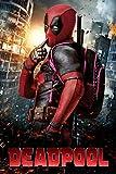 Black Creations Deadpool 5 Affiche de Film Movie Poster Photo sur Toile Art Premium Qualité A0 A1 A2 A3 A (A4 Affiche (21/30cm))