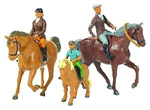 Britains - Caballos y Jinetes, Set de Figuras (Tomy 40956)