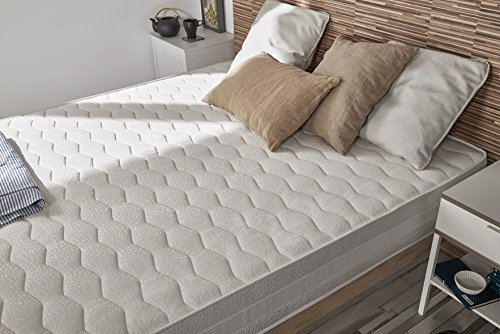 Naturalex-Deluxe Matratze 80x190cm gedächtnisschaum viscoelastische Viscotex® hoher Dichte + latexschaum Blue Latex® 20 cm (Matratze Air-für-sofa-bett)