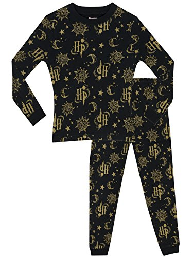 Harry Potter Girls Pyjamas - Snuggle Fit - Ages 5 to 13 Years