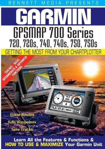 Garmin GPSMAP 720, 720s, 740, 740s, 750, 750s Garmin Video-training, Gps