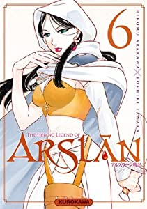 "Afficher ""Arslan, the heroic legend n° 6<br /> The heroic legend of Arslân"""