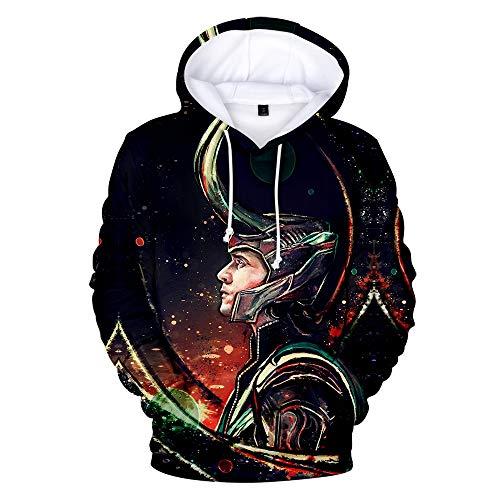 Loki Hoodie - Wycdbk 3D Hoodies Sweatshirts 3D HD
