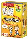 Jumbo Spiele 18174 - Tam Tam Lesen Level 2, Kartenspiele