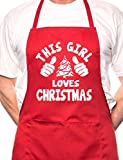This Girl Loves Christmas Santa Xmas BBQ Cooking - Best Reviews Guide