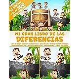 Mi Gran Libro de las Diferencias - 40 páginas - más de 300 diferencias - Libro de juegos: encuentra las diferencias - Juego d