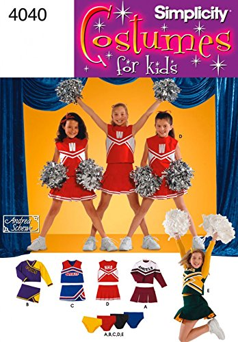 Simplicity Schnittmuster 4040–Kind & Mädchen Kostüme Größen: BB (81012)