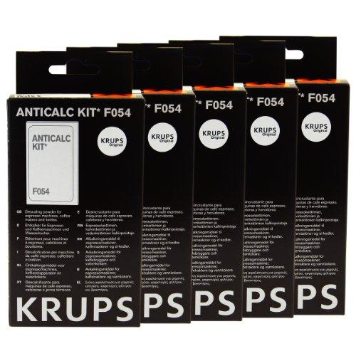 Krups Anticalc Kit* F054 Entkalker, Kalkreiniger, Kalkentferner, 5er Pack thumbnail