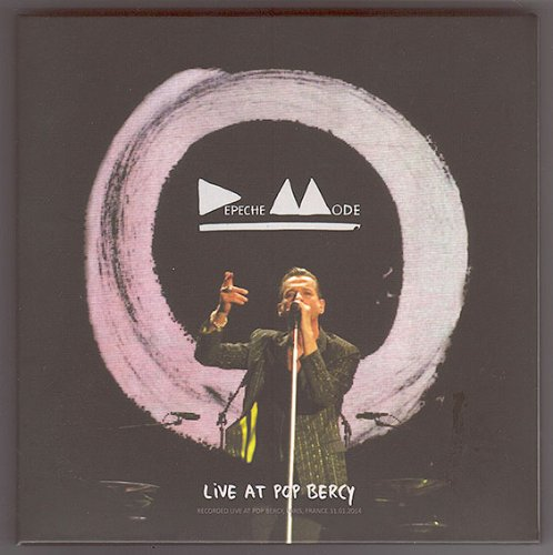 Live at POP Bercy, PARIS 2014 (Delta Machine Tour) DIGIPAK (Paris Live Depeche In Mode)