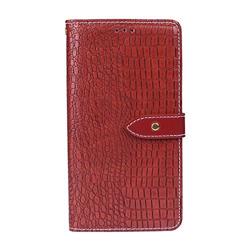 Forhouse Oppo F5 Hülle, Ledertasche Premium PU Leder Schutzhülle Flip Magnet Brieftasche Kartenfach Ultra Schlanke stoßfest Schutzhülle für Oppo F5