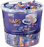 1x Milka Naps Mix in Runddose Süßigkeiten, Nahrungsmittel