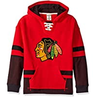 "Chicago Blackhawks CCM NHL ""Hit the Boards"" Youth Kinder Vintage Jersey Trikot Sweatshirt"