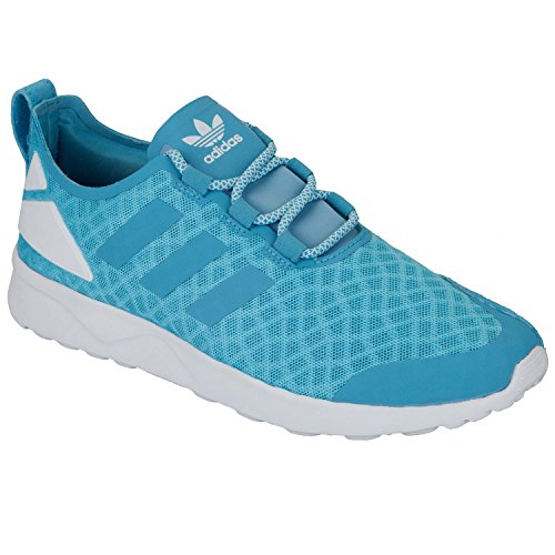 adidas Damen ZX Flux ADV Verve Sneakers, Blau (Blanch Sky/Blanch Sky/Core White), 37 1/3 EU