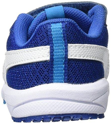 Puma Carson Runner Mesh Ve V Inf, Scarpe da Ginnastica Basse Unisex – Bambini Blu (Blue Danube-puma White 02)