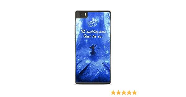 Coque Huawei P8 Lite Disney Roi Lion Simba Hakuna Qui tu ES REF11418