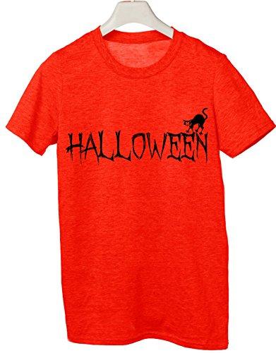 Tshirt happy halloween - trick or treat - boo scherzo humor - Tutte le taglie by tshirteria Rosso
