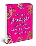 Pocket Notes: Be Like a Pineapple – Notizblock im praktischen Taschenformat: Sei wie eine Ananas