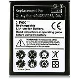 Batería EB535163LU / EB535163LA para Samsung Galaxy Grand GT-i9080 | Galaxy Grand duos GT-i9082 | Galaxy Grand Neo GT-i9060 | GT-i9128 | GT-i9082I | SCH-I879 Note II Mini | SGH-E270 | SGH-E270L | SGH-E270S | SGH-E270K