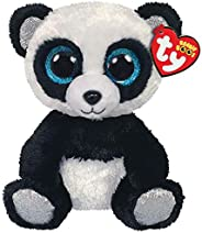 Ty – Beanie Boo's – Peluche de bambú, Modelo Panda, TY36327, Color Negro/Blanco, 1