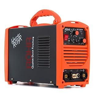 TIG ARC Welder Portable Inverter MMA MOSFET 240V / 200 amp DC - Röhr HP-200PP