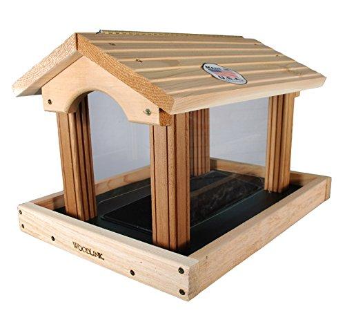 Woodlink PRO4 Premier Vogelfutterstation aus Zedernholz -