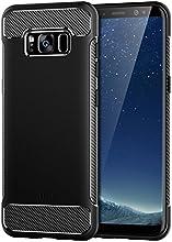 Funda Galaxy S8, JETech Protección Carcasa Case con Tope Shock-Absorción y Diseño de Fibra de Carbono para Samsung Galaxy S8, Negro