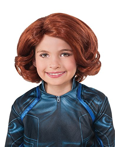 Black Widow Perücke, Kinder Avengers Age of Ultron Kostüm - Black Widow Avengers Age Of Ultron Kostüm
