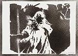 moreno-mata Gandalf Herr der Ringe (The Lord of The Rings) Handmade Street Art - Artwork - Poster