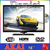 AKTV165D LED+DVD 12V AKAI