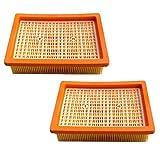 Le 2x Filtre HEPA pour Kärcher MV4MV5MV6WD4wd5wd6Aspirateur Filtre à plis plat remplace 2.863–005.0/28630050