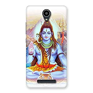 Blessings Of Shiva Back Case Cover for Redmi Note 2