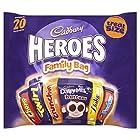 Cadbury Family Heroes Treat Size Chocolate Packs, 278 g