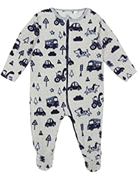 Bluezoo Baby Jungen Grau Transport Print All In One