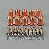 PR0110 Plasma Elektroden & PD0116-06 Schneiddüse Φ0,65 für Trafimet S25K S45 Brennerhals 20pcs