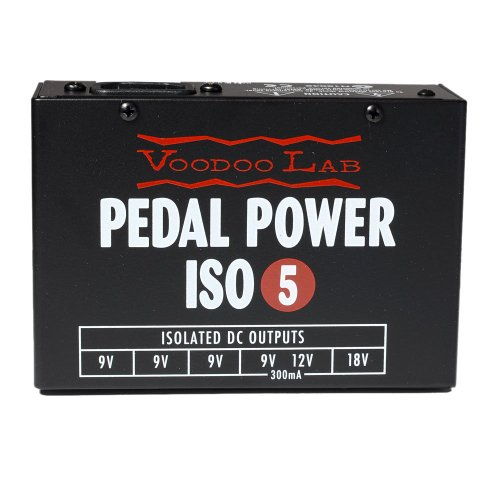VOODOO LAB PEDAL POWER ISO5 Pedal Power Supply