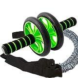 Sportastisch Top¹ Attrezzo trainer addominale Extreme Ab Roller con ginocchiera tappetino e bande...