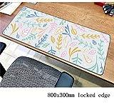FEJK Pastel Pad Mouse Home Computer Gamer Mause Pad 800X300X2Mm Padmouse Populaire Tapis De Souris Ergonomique Gadget Desk Mats