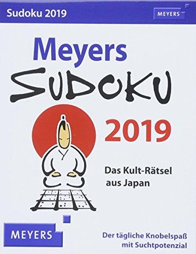 Meyers Sudoku 2019: Das Kult-Rätsel aus Japan. Der tägliche Knobelspaß mit Suchtpotenzial