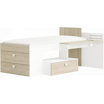 Demeyere Kombi Bett Mit Schreibtisch Move 90 X 200 Cm Spanplatte