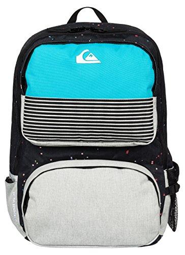 Quiksilver Herren Rucksack Wedge Backpack, BP Ghetto Lights Black, 45 x 32 x 14 cm, 23 Liter, EQYBP03202-KVJ3
