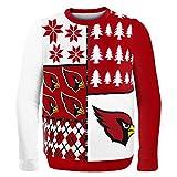 Klew NFL Pullover Busy Block, Herren, SWTNFUGYBBLKACM, Arizona Cardinals, M