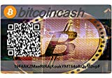 Bitcoin Cash Paper Wallet Card, Hardware Wall