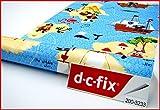 DC Fix Jungen blau Muster 2M X 45cm selbstklebende Kunststoff, Vinyl Piraten 200–3233